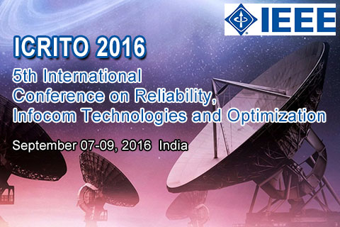 5th International Conference on Reliability,Infocom Technologies and Optimization