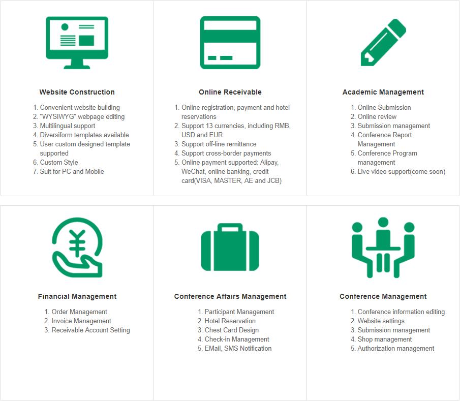 Aconf Academic Conference Management System V3 0 is Online