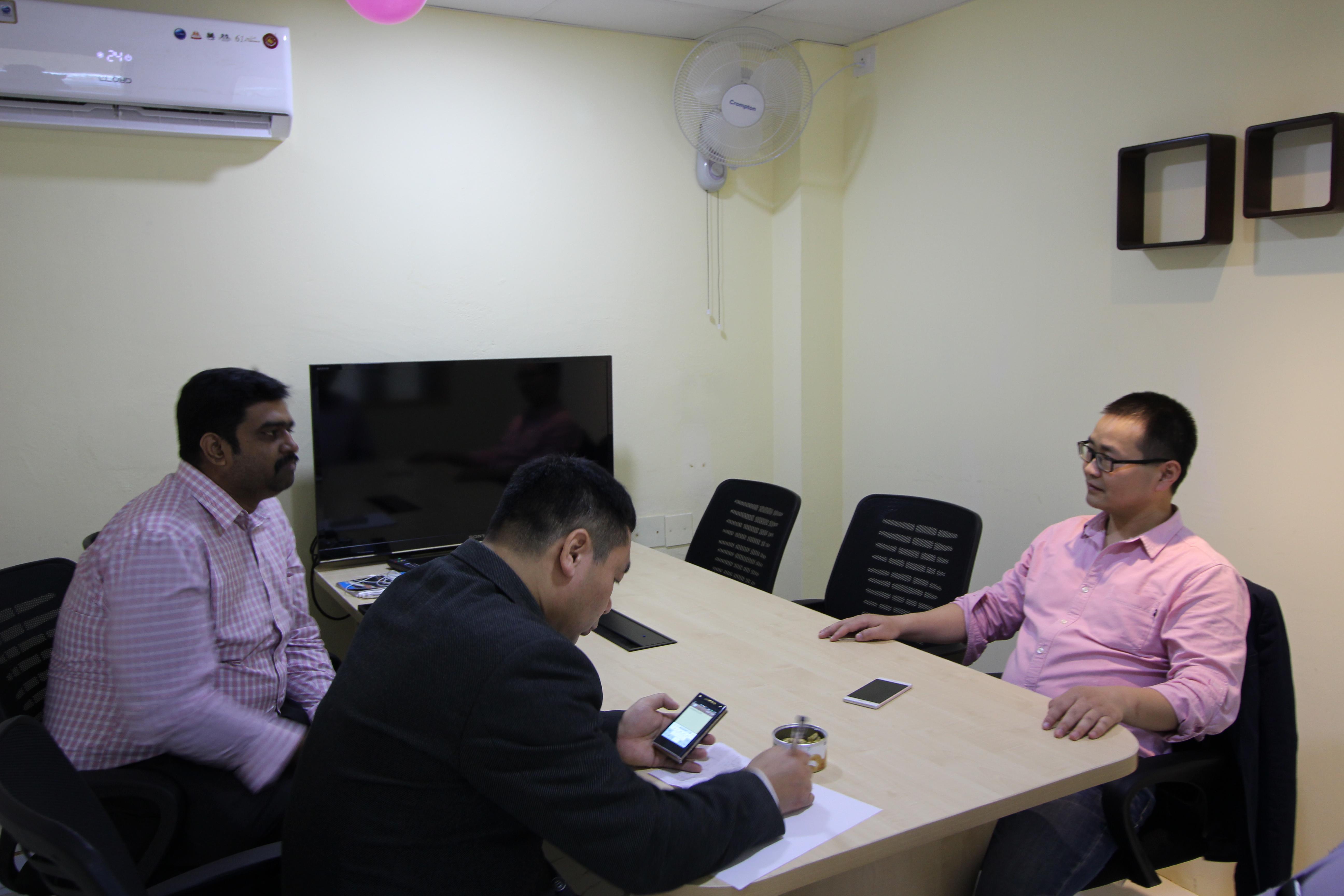 企泰艾会印度公司挂牌