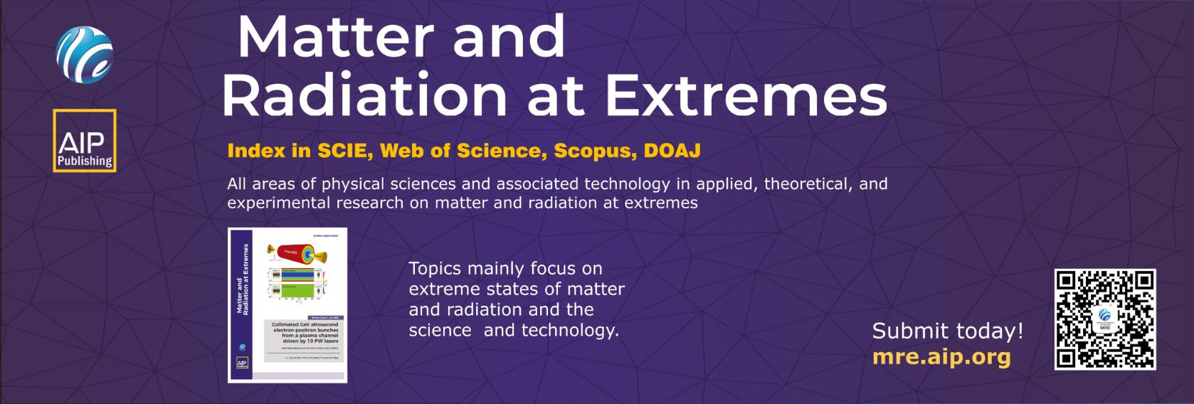 The 5th International Conference on Matter and Radiation at Extremes
