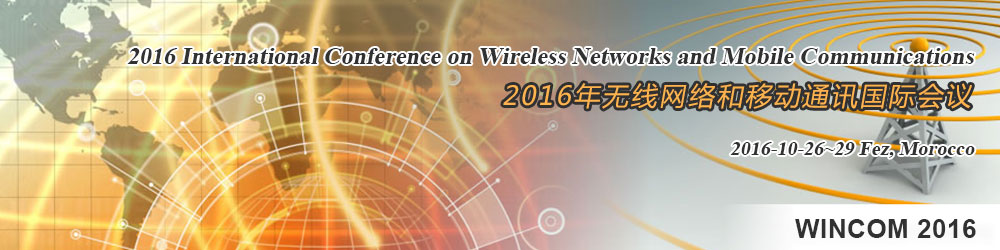 2016 International Conference on Wireless Networks and Mobile Communications